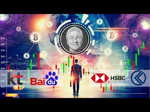 JP Morgan Coin!!?? Baidu Blockchain, KT Korea, HSBC, Kriptomat - Crypto News