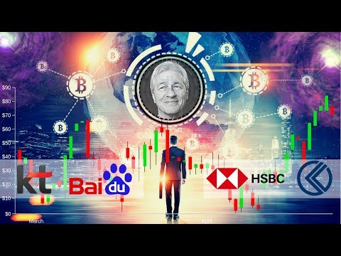 JP Morgan Coin!!?? Baidu Blockchain, KT Korea, HSBC, Kriptomat - Crypto News Mp3