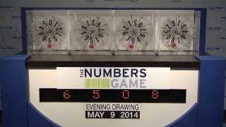 Evening Numbers Game Drawing: Friday, May 9, 2014