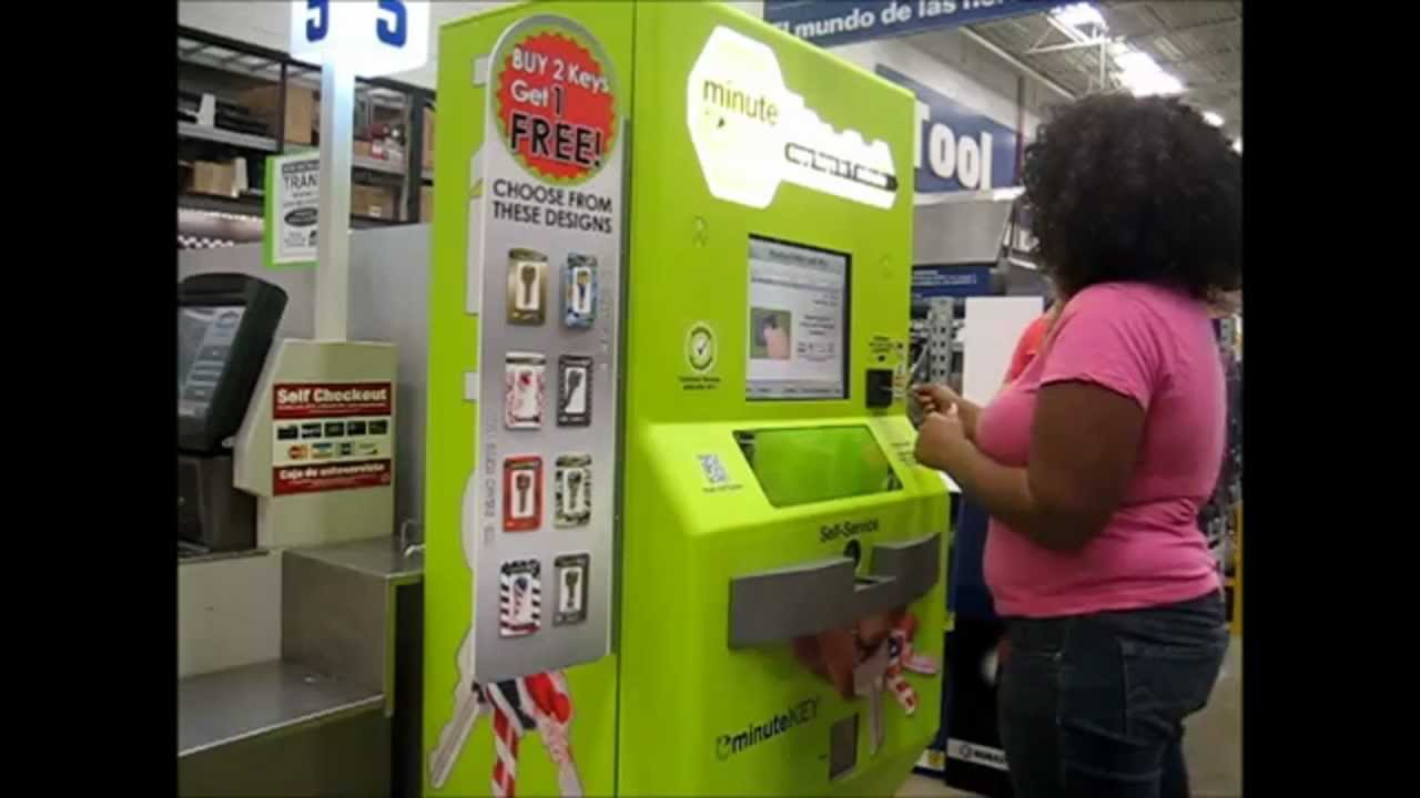 key cutting vending machine