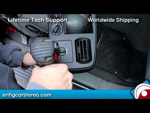 Ford F250/350/450/550 AUX input Installation 2005-2007