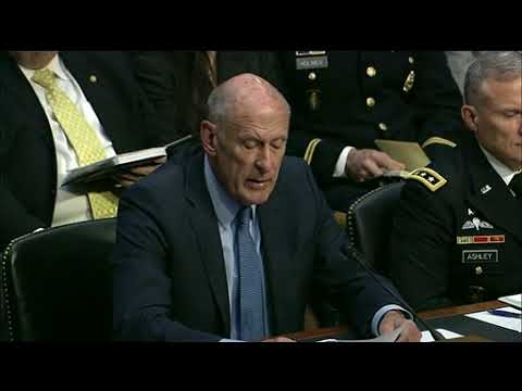 DFN: Defense Officials Testify on Worldwide Threats, Part 1, UNITED STATES, 03.06.2018
