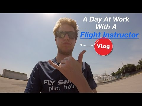 A Day In The Life Of A Flight Instructor| Episode One| Pilot Vlog
