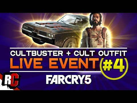 Far Cry 5 | Live Event #4 -April 24- (Destroy 15 Cult Trucks With Explosives / Cultbuster + Outfit) thumbnail