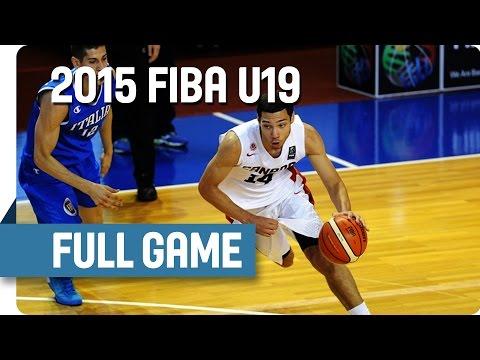 Canada v Italy – Group C – Live Stream – 2015 FIBA U19 World Championship