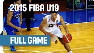 Canada v Italy - Group C - Full Game - 2015 FIBA U19 World Championship