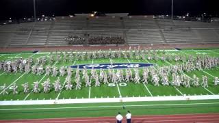 The Fightin' Texas Aggie Band Exhibition at the NAMMB in Bryan, TX 2012.MP4