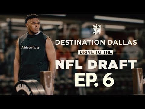 Orlando Brown Gets His Chance for Redemption at Oklahoma Pro Day  Drive to the NFL Draft Ep. 6