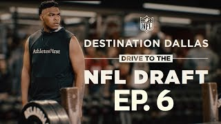 Orlando Brown Gets His Chance for Redemption at Oklahoma Pro Day | Drive to the NFL Draft Ep. 6