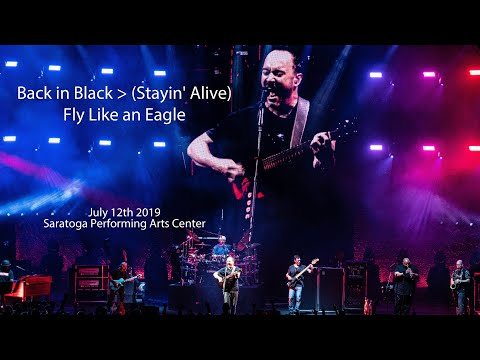 Back In Black / Stayin' Alive / Fly Like An Eagle | Dave Matthews Band | July 12th 2019 | SPAC, NY