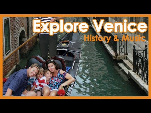 Venice Italy With Kids: Travel With Kids Italy Travel Video