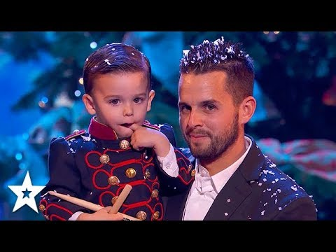 Download Cutest Baby Drummer Plays A Christmas Carol in the Finals   Got Talent Global