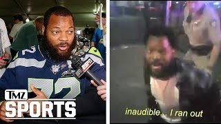 Cops: Michael Bennett Body Cam Footage Justifies Police Takedown | TMZ Sports