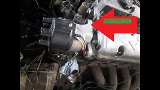 How to install ignition distributor correctly TDC timing firing order Honda Prelude Civic Accord