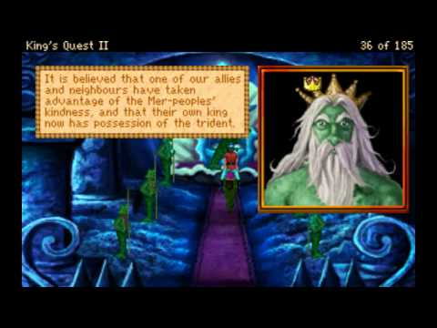 King's Quest II: Romancing The Stones VGA Part 1