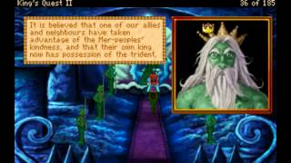 King's Quest II: Romancing The Stones VGA Part 1