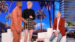 Charlize Theron Gets a Surprise Visit from Michael B. Jordan