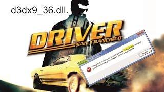 San Francisco d3dx9_36.dll.