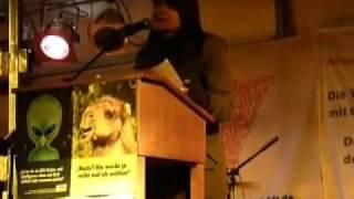 Anna Conrads, DIE LINKE NRW, 16.12.09 in Siegen