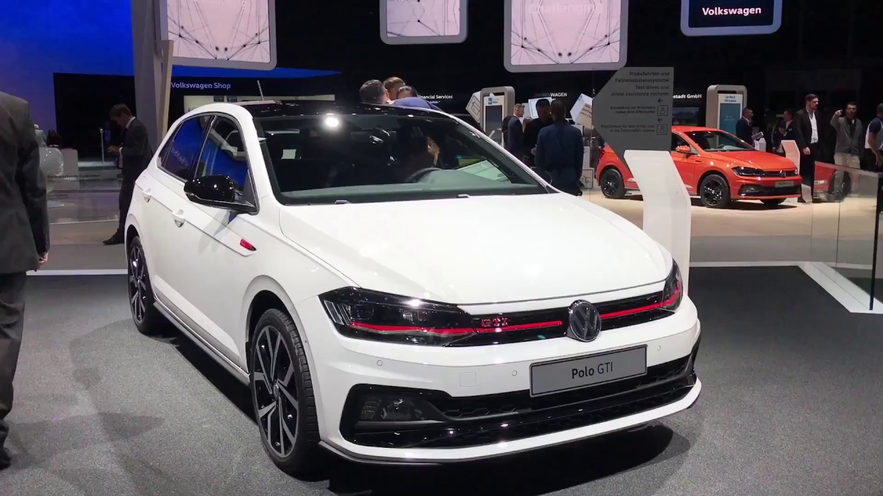 2018 Vw Gti Release Date >> 2018 Volkswagen Polo walkaround at Frankfurt Motor Show 2017 - YouTube