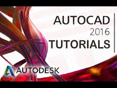 AutoCAD 2016 - 3D Materials and Render Tutorial [COMPLETE]*