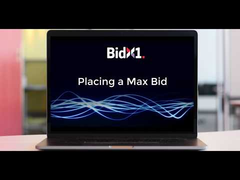 How To Place A Bid At A Digital Auction - BidX1 UK
