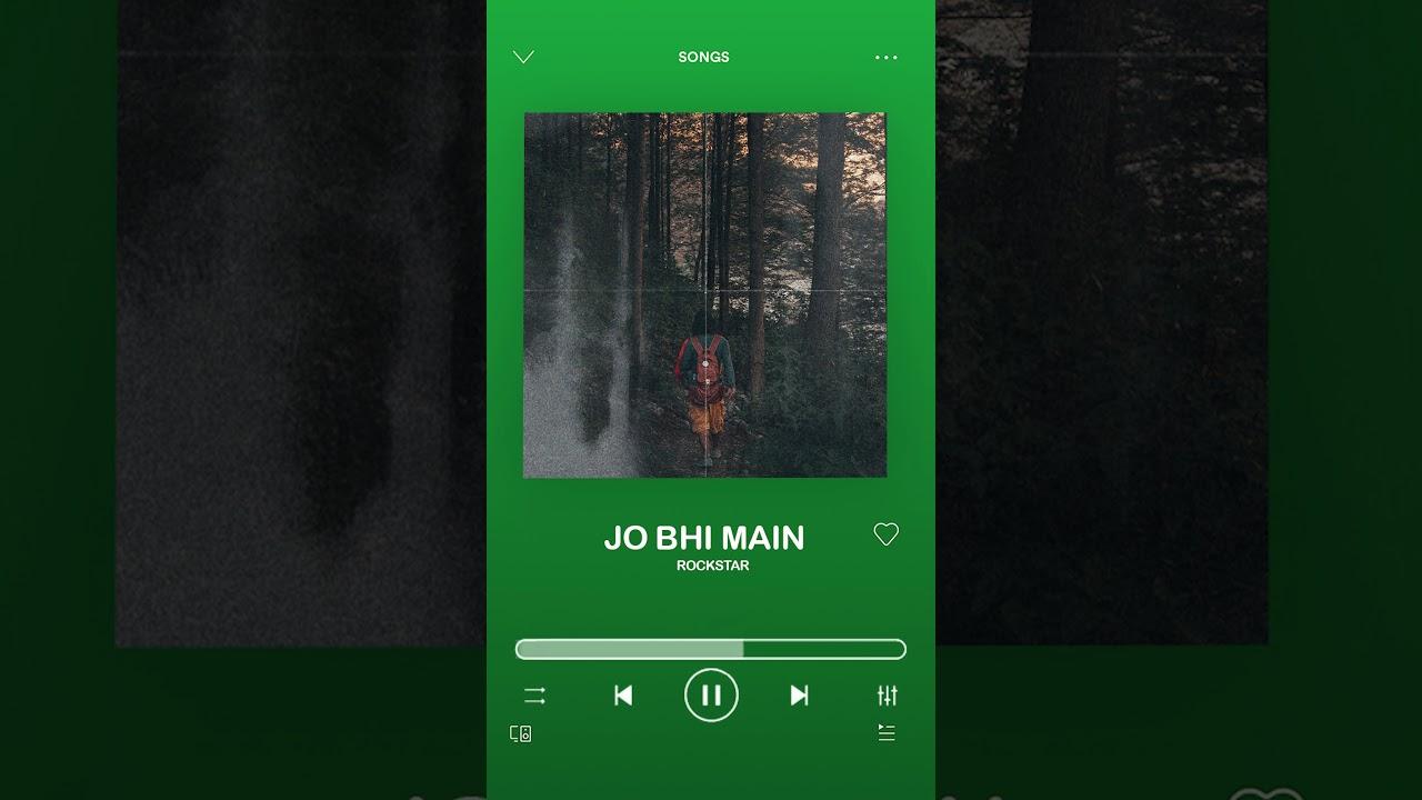DOWNLOAD: Jo bhi main | Rockstar | Ranbir Kapoor | A R Rahman | Lo-fi version 2021 Mp4 song