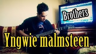 Yngwie malmsteen - Brothers - Guitar Cover by MetalbarD 2013