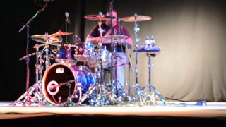 Aaron Spears - caught up  Ushers Song  at Drumworld Ittervoort Netherlands