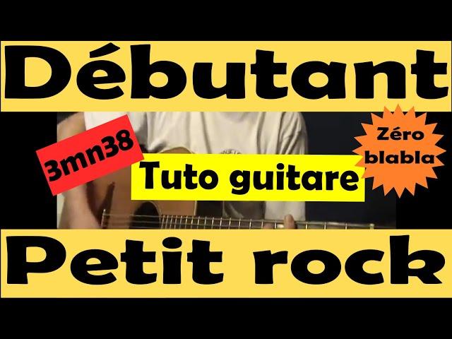 Comment jouer un petit rock à la guitare, très facile