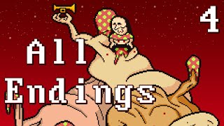 Lisa The Joyful -  (ALL ENDINGS + SECRET SCENES) Manly Let's Play Pt.4