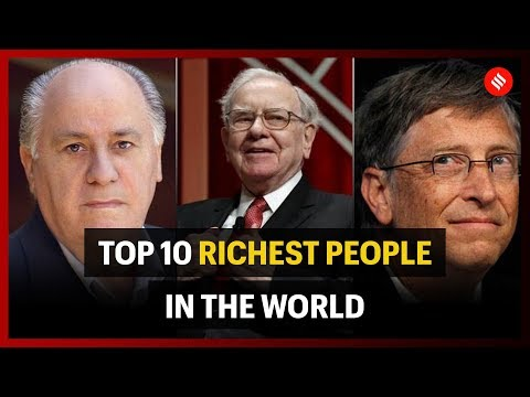 Top 10 Richest people in the world (Forbes)