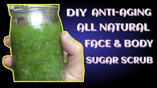 Diy Natural Sugar Facial & Body Scrub | How To For Holiday Gifts