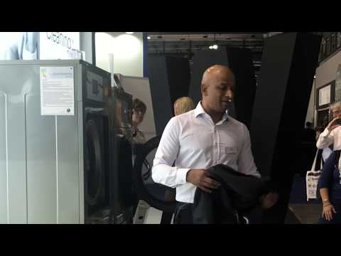 Wet cleaning & garment finishing explained at the Milan expo laundry show 2018