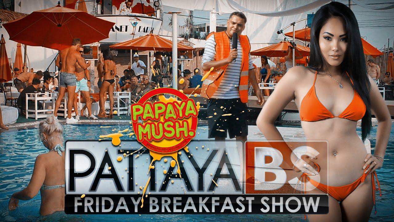 Pattaya Breakfast Show At Planet Earth Beach Club Jomtien Near Soi  Youtube