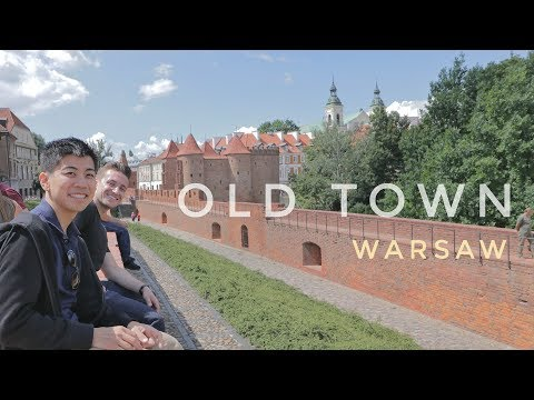 TRUMP in POLAND? VISITING OLD TOWN in WARSAW - Warsaw, Poland Vlog Ep 73