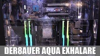der8auer Aqua Exhalare Tauchkühlungssystem #gamescom2017 (Caseking)