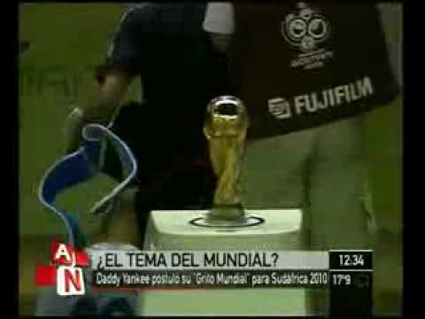 """Download Daddy Yankee - """"Grito Mundial"""" (Official World Cup 2010 ) (Cancion Mundial Sudafrica) HD"""