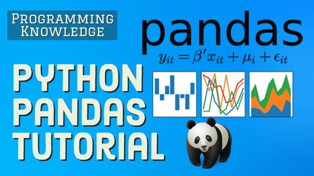 Python Pandas Tutorial | Data Science For Beginners With Python Pandas