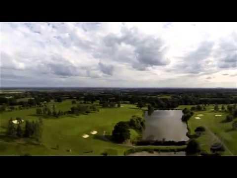 Flying Camera of Warley Park Golf Club's Wedding Pier