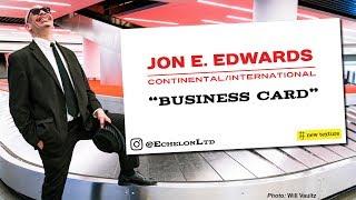 "Jon E. Edwards - ""Business Card"" Music Video(Continental International)"