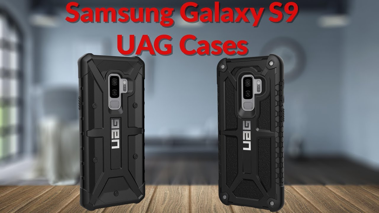 huge selection of 3e62c 7a0ce Samsung Galaxy S9 UAG Cases - YouTube Tech Guy