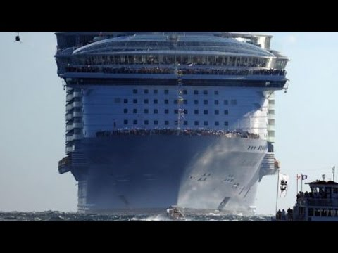 Worlds BIGGEST BEST CRUISE SHIPBOAT EVER Constructed - Biggest and best cruise ships