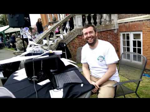 Emily Carey interviewed by Surrey Hills Community Radio at The Children