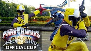 Power Rangers Super Ninja Steel Official Clip - Tough Love