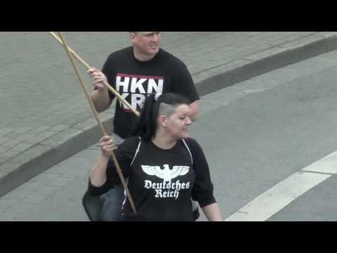 Neonazi Demo 14 04 2018 Dortmund