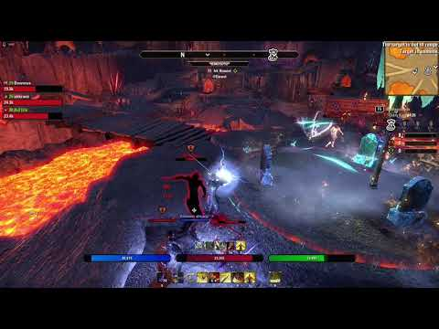 The Elder Scrolls Online - Stamina Templar + Dragon Knight duo party - Below 50 - PVP  BG - Fatality |