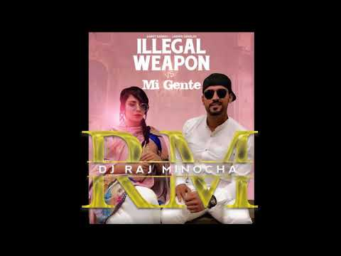 Jasmine Sandals Feat Garry Sandhu - Illegal Weapon Remix DJ Raj Minocha