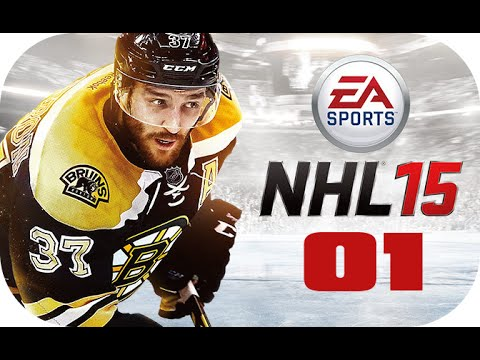 NHL 15 Be A Pro Let´s Play Gameplay Part 01 [Deutsch/German] [PS4]