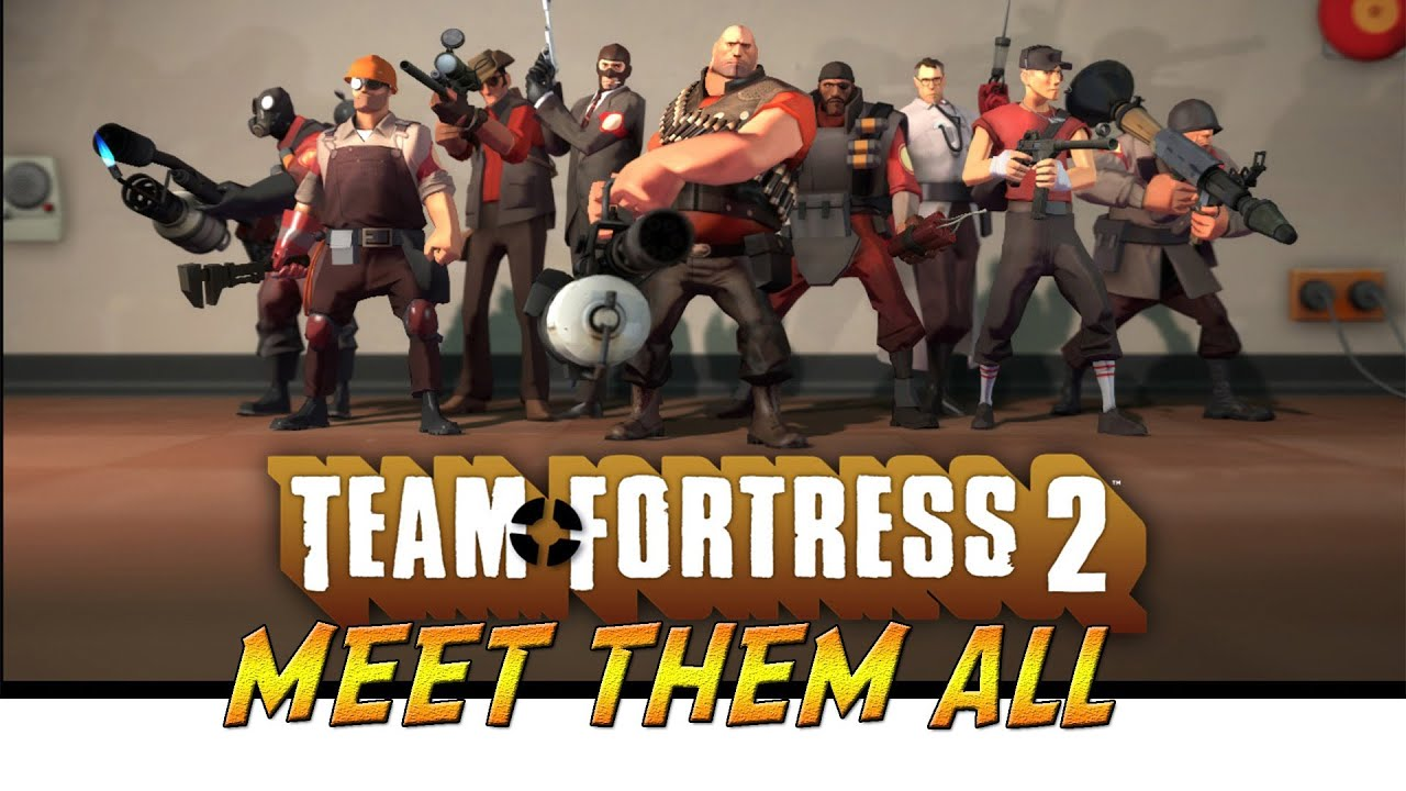 all team fortress 2 meet the videos people